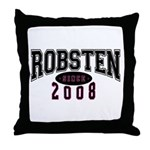 Robsten Throw Pillow