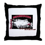 Breaking Headboards 1 Throw Pillow