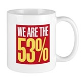 We Are The 53% Mug