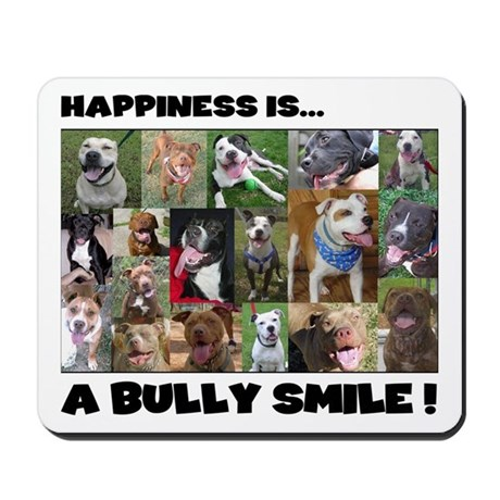 Bully Smiles! Mousepad