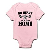 Go Heavy Or Go Home Weightlifting Onesie