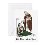 St. Vincent de Paul Greeting Cards (Pk of 10)