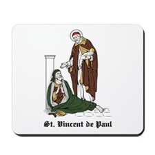 St. Vincent de Paul Mousepad
