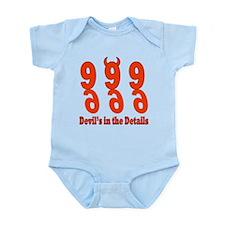 Devil's in the Details Infant Bodysuit