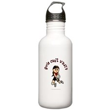 Light Red Volleyball Water Bottle