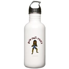 Dark Wrestler Water Bottle