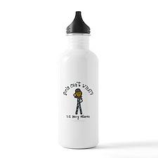 Dark Navy Veteran (Blue Camo) Water Bottle