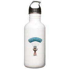 Blonde Sky Diver Water Bottle
