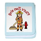 Firefighter Baby Blankets
