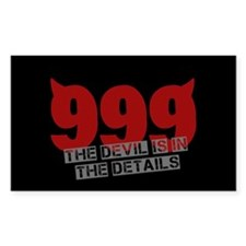 999 - Devil in the details Decal