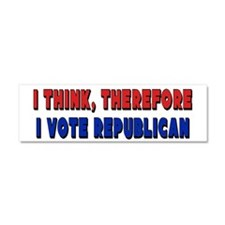 I Vote Republican Car Magnet 10 x 3