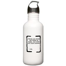 Sticks and Stones Water Bottle