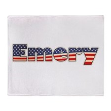 American Emery Throw Blanket