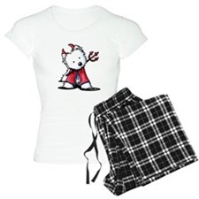 Little Devil Westie Pajamas