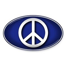 Big Peace BLUE - Decal