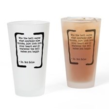 Who the Hell Cares Drinking Glass