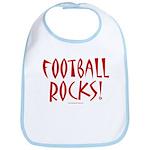 Football Rocks - Bib