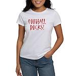 Football Rocks - Women's T-Shirt