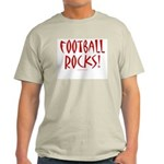Football Rocks - Ash Grey T-Shirt