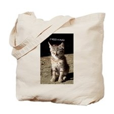 I Need a Hug Kitty CatTote Bag