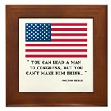 BERLE CONGRESS Framed Tile