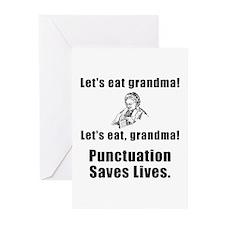 Lets Eat Grandma! Greeting Cards (Pk of 10)