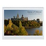 "Scenes of Ottawa 8.5x11"" Calendar"