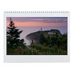 "Grand Manan Images 8.5x11"" Calendar"