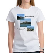 Alcatraz Island Collage Tee