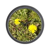 Wildcat's Repose Dandelion Wall Clock