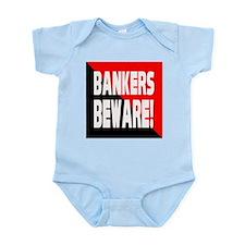 Bankers a Warning Infant Bodysuit