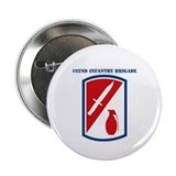 "SSI-192ND INFANTRY BDE WITH TEXT 2.25"" Button (10"