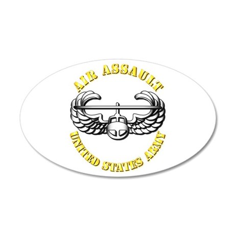 Emblem - Air Assault 22x14 Oval Wall Peel