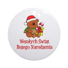 Polish Christmas Ornament (Round)