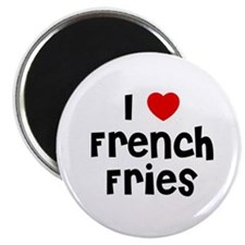 "I * French Fries 2.25"" Magnet (10 pack)"