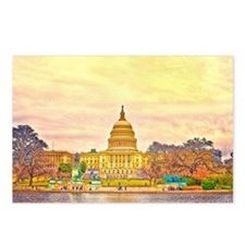 National Capitol Postcards (Package of 8)