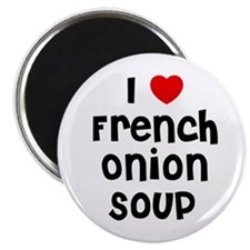 "I * French Onion Soup 2.25"" Magnet (10 pack)"