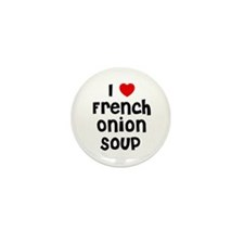 I * French Onion Soup Mini Button (10 pack)