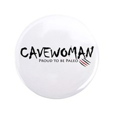 "Cavewoman 3.5"" Button"
