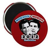 "Anti Romney Anti Perry 2.25"" Magnet (100 pack"