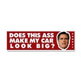Anti Mitt Romney Car Magnet 10 x 3