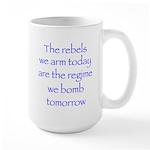 ArmedRebelsBl Large Mug