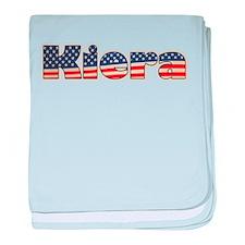 American Kiera baby blanket