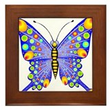 Butterfly258 Framed Tile