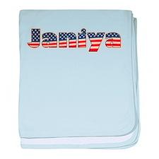 American Janiya baby blanket