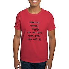 Upside down help burpees T-Shirt