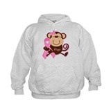 Monkey Cancer Hope Hoodie