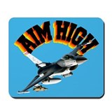 F16 Aim High Mousepad