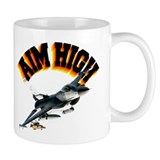 F16 Aim High Mug