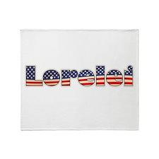 American Lorelei Throw Blanket